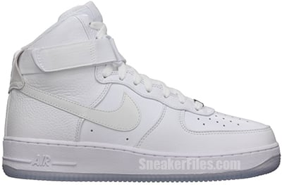Nike Air Force 1 High CMFT White July Release Date 2013