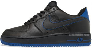 Nike Air Force 1 Black Old Royal Release Date
