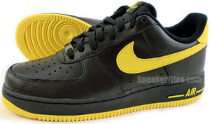 Nike Air Force 1 Release Date Black Varsity Maize Release Date