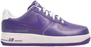 Nike Air Force 1 Court Purple White Release Date 2012