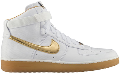 Nike Air Force 1 Downtown High White Gold November Release Date