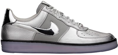 Nike Air Force 1 Downtown Metallic Silver Release Date 2013