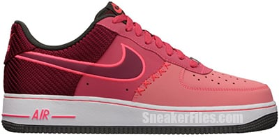 Nike Air Force 1 Fusion Red July Release Date 2013