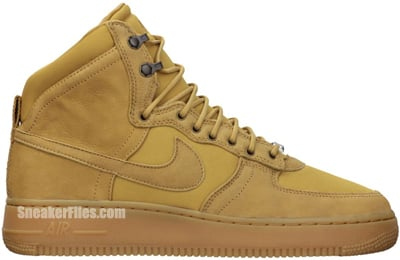 Nike Air Force 1 Hi DCN Golden Harvest Release Date 2012