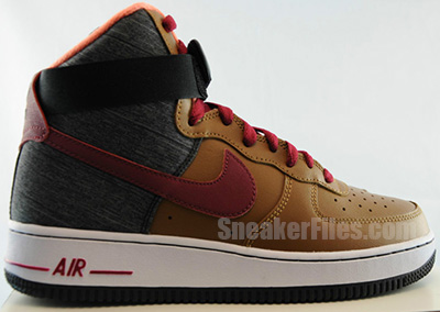 Nike Air Force 1 High Ale Brown July Release Date 2013