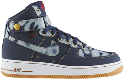 Nike Air Force 1 High Denim Midnight Navy Release Date 2014