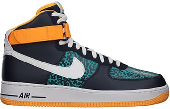 Nike Air Force 1 High Obsidian White Green Release Date