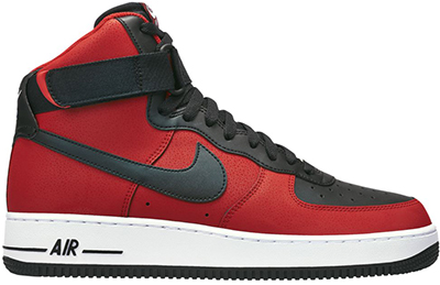Nike Air Force 1 High University Red Release Date 2014