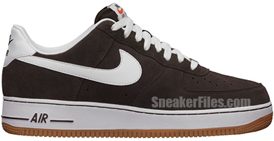 Nike Air Force 1 Low Bar Brown Release Date July 2013