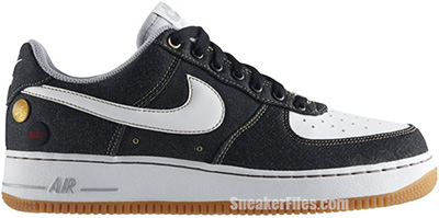 Nike Air Force 1 Low Denim Black Gum Release Date 2014