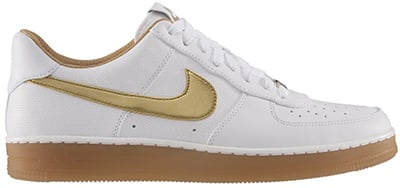 Nike Air Force 1 Low Downtown White Gold November Release Date