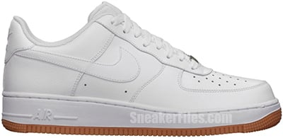 Nike Air Force 1 Low White Brown July Release Date 2013