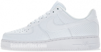 Nike Air Force 1 Low White May 2013 Release Date
