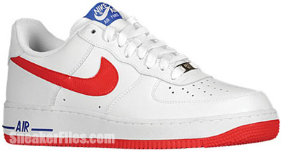 Nike Air Force 1 Low White Red Release Date 2013
