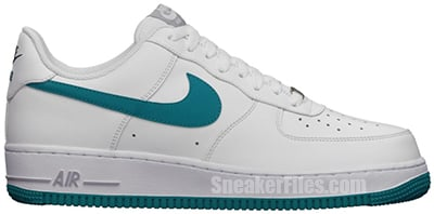 Nike Air Force 1 Low White Tropical Release Date 2013