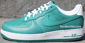 Nike Air Force 1 Lush Teal White Release Date April 2012