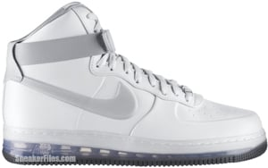 Nike Air Force 1 Lux Max Air White Silver Release Date