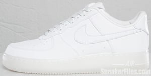 Nike Air Force 1 Premium White White Release Date