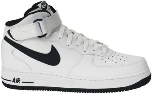 05/16/2009 Air Force 1 Mid 315123-114 White/Black $92.00. Nike Air Force 1