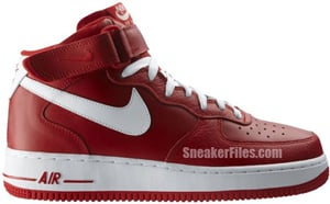Nike Air Force 1 Valentines Day 2012 Release Date