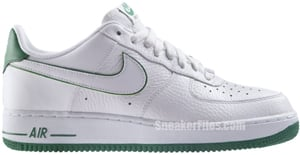 Nike Air Force 1 White Court Green Release Date