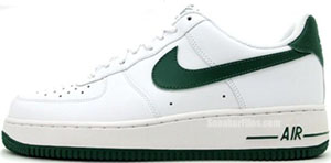 Nike Air Force 1 White Gorge Green Release Date