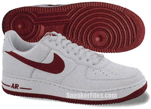 Nike Air Force 1 White Gym Red White Release Date 2012