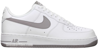 Nike Air Force 1 Low White Medium Grey White Release Date 2012