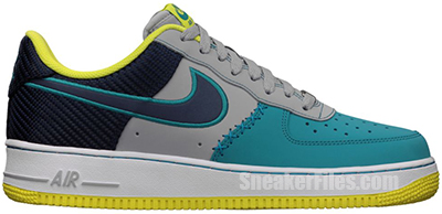 Nike Air Force 1 Wolf Grey July Release Date 2013