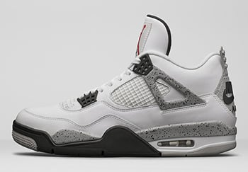 Nike Air Jordan 4 OG White Cement Release