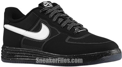Nike Lunar Force 1 Fuse Low Black White Release Date 2013