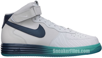 Nike Lunar Force 1 Leather Pure Platinum May 2013 Release Date