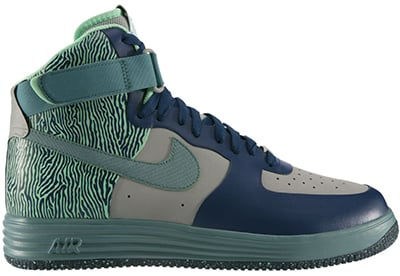 Nike Lunar Force 1 NS High Silver Teal November Release Date