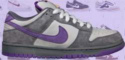 Nike SB Release Dates Nike Dunk SB Low Purple Pigeon