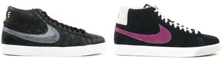 Nike SB Blazer Supreme and Viotech