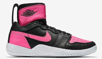 Serena Williams NikeCourt Flare AJ1 Black Pink