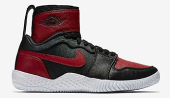 Serena Williams NikeCourt Flare AJ1 Black Red