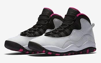 Vivid Pink Air Jordan 10 GS