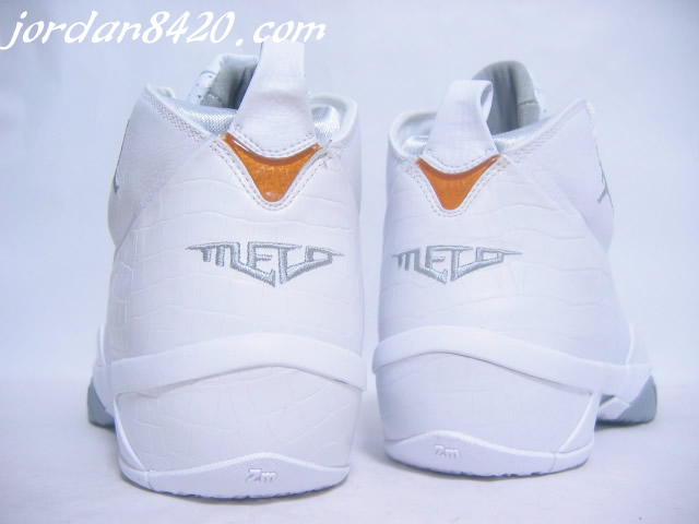 Air Jordan Melo 3 White Version 2007