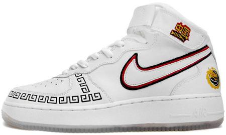 Nike AF1 China @ Overkill