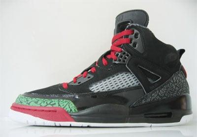 Air Jordan Spiz'ike Black/Red/Green