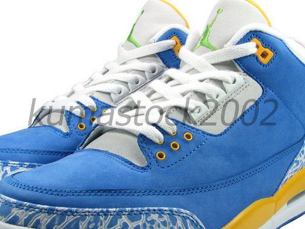 Air Jordan Retro 3 Laney Color Way