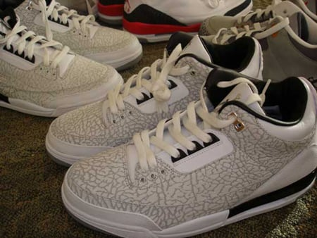 Air Jordan III Retro Flip White/Black/Silver