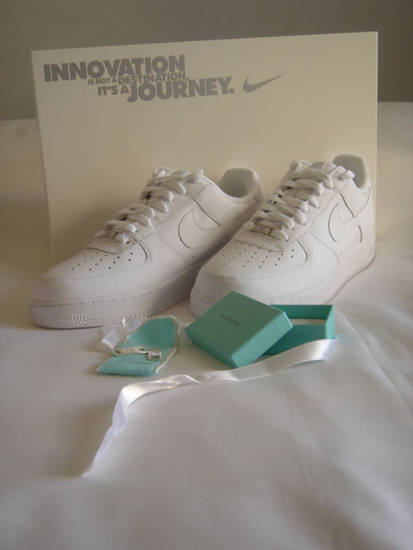 Tiffany and Co. Air Force One Lace Locks