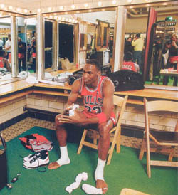 Michael Jordan 1986-1987 Season Playoffs