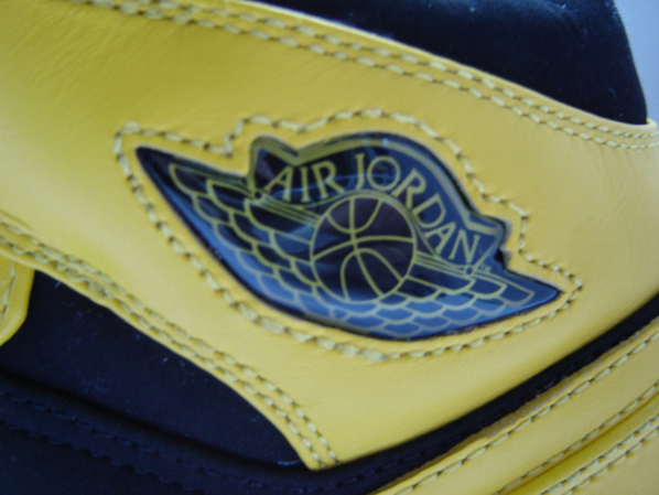 Air Jordan 1 BMP Yellow/Black