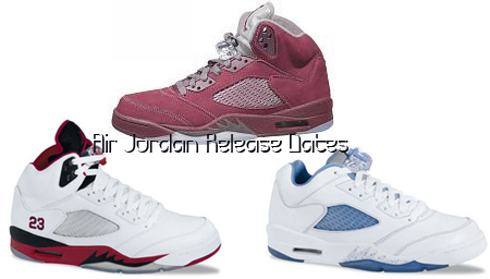 Air Jordan Release Dates Reminder: Jordan 5 Retro