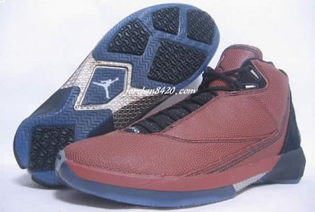 Air Jordan XXII Basketball Leather Pictures