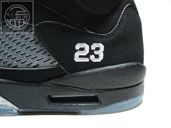 Air Jordan Retro V Black/Metallic Silver 23