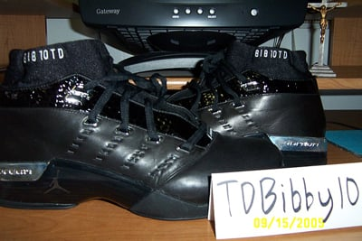 Mike Bibby Jordan PE XVII 17